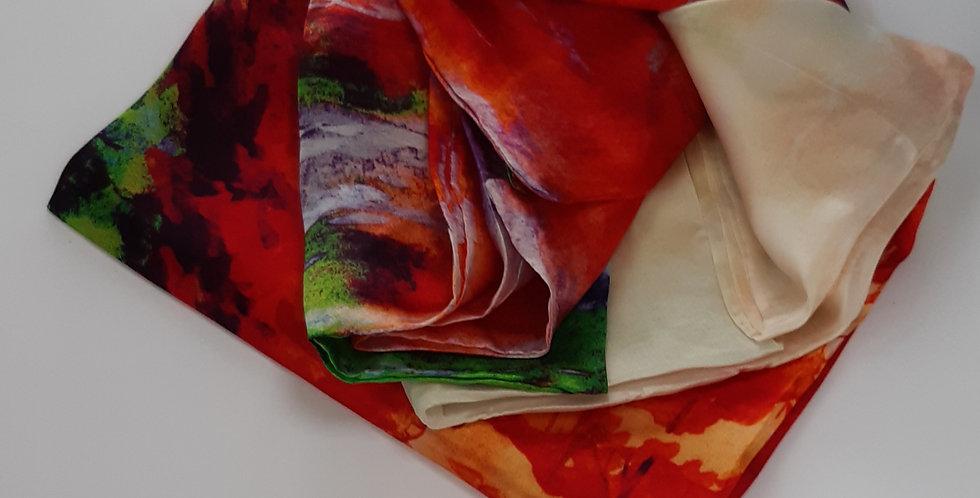 I Love Silk Scarves