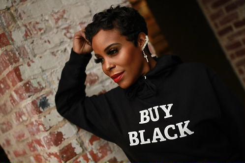 BUY BLACK Men's Hoodie