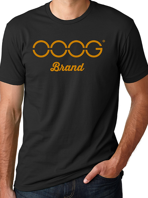 OOOG Men's T-Shirt - Orange Print