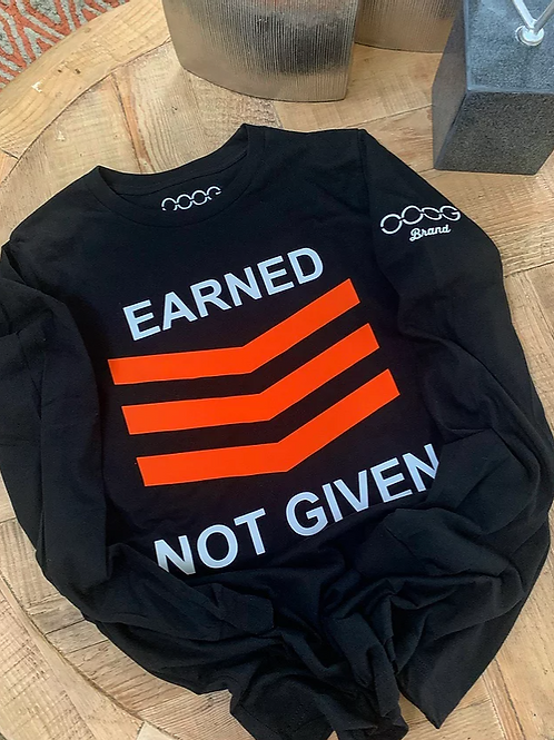 2 Color ENG Long Sleeve Crew (W)