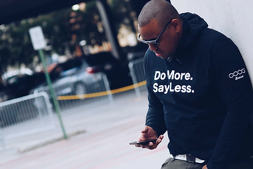Do More Say Less Hoodie (W)