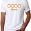 Thumbnail: OOOG Men's T-Shirt - Orange Print