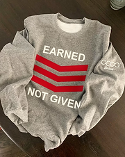 2 Color ENG Sweatshirt Crew (M)