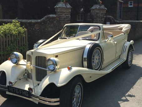 Another stunning day with The Beauford in Wivelsfield.  If you are stuck behind me on the way back,