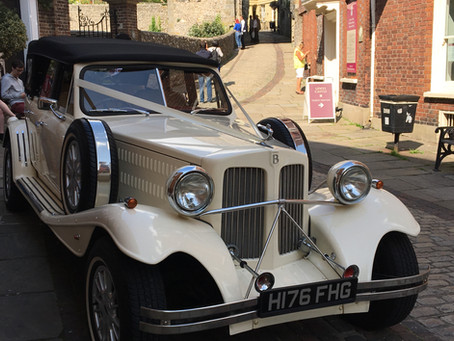 Arrived, phew!!!! So many people wanting to have a look inside the Beauford.