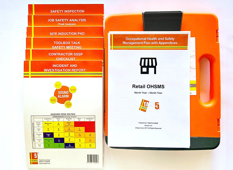 Retail - Digital Health and Safety Management System