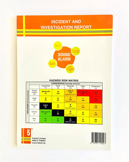 Incident and Investigation Pad