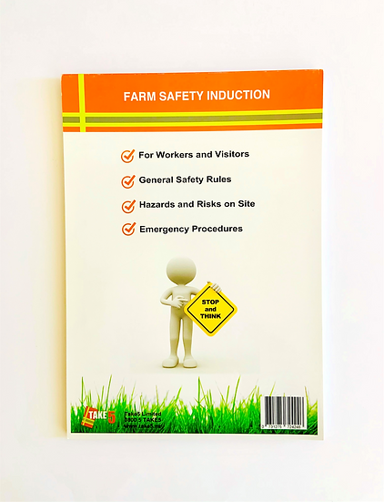 Farm Safety / Site Induction Pad