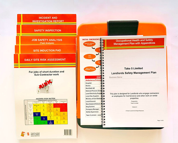 Landlord Health and Safety Management Pack