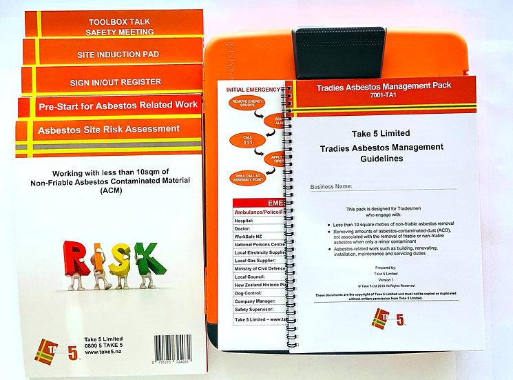 Tradie Asbestos Management Pack