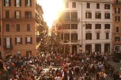 people-gathering-during-sunset-88680