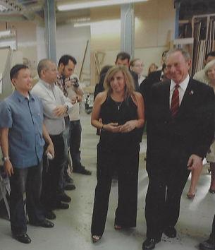 Michael Bloomberg and Lisa Hendrickson