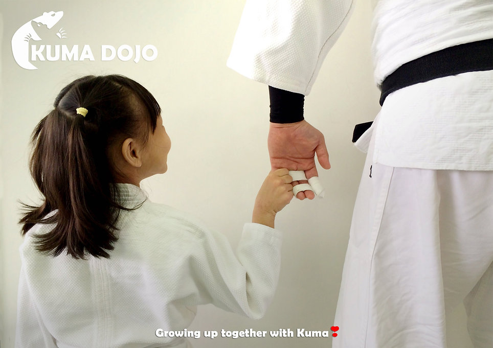 Kuma Dojo HK Judo Kids