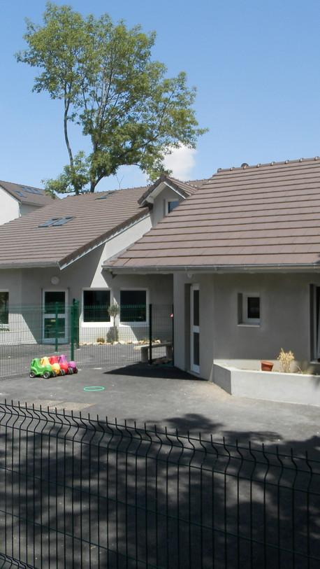 Construction d'un jardin d'enfants - Yerres (01)