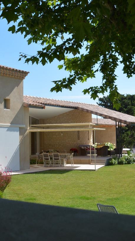 Extension d'une maison - Saint Rémy-de-Provence (13)