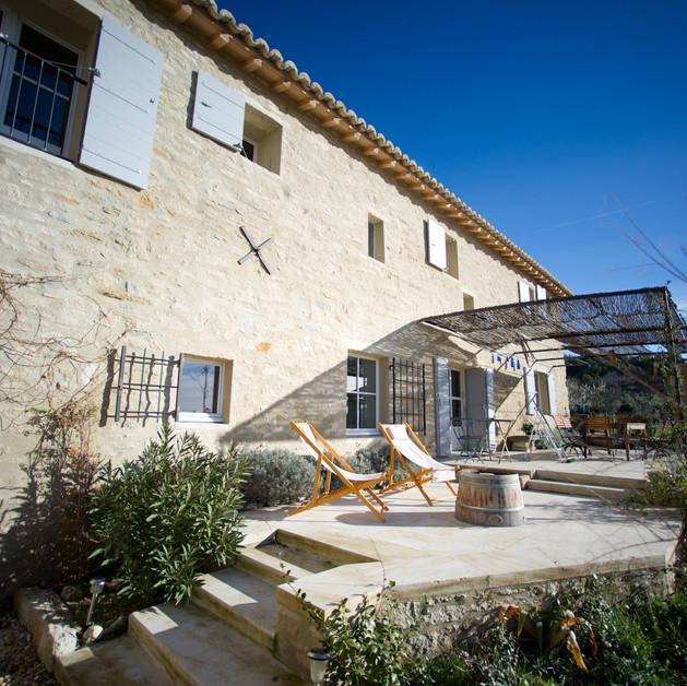 Restructuration d'un mas provençal - Caromb (84)