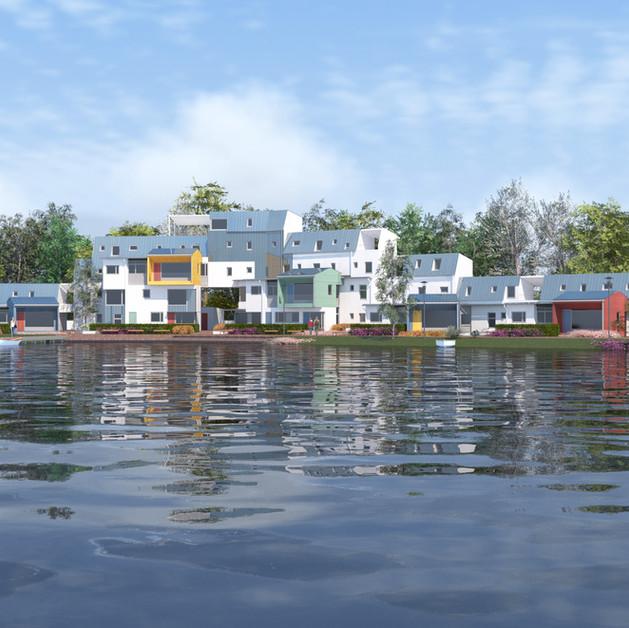 Quartier d'habitation - Jyväskylä - Finlande