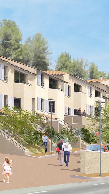 Maisons en bande - Beaumes-de-Venise (84)