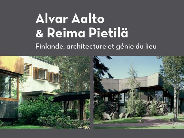 2015 - Parution d'un livre sur Alvar Aalto et Reima Pietilä - Editions Parenthèses