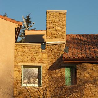 Réhabilitation et extension d'une maison à la Rocques-Sur-Pernes (22)