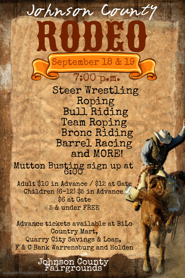 Copy of Rodeo Weekends Poster - Made wit
