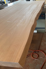 Plank Style Sapele Top w-Faux Live Edge #2