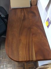 Mahogany plank style