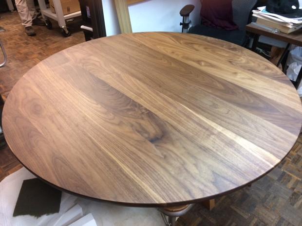 Walnut plank style w roundover//w clear finish