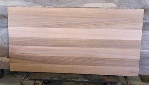 Ribbon Stripe Plank style table