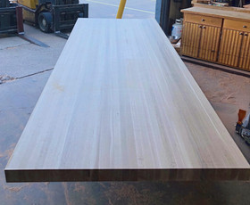 "3-1/2"" thick White Oak Butcher Block Top"