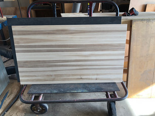 Hickory Butcher Block Top