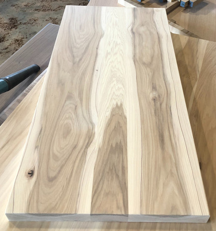 Hickory Plank Style Top