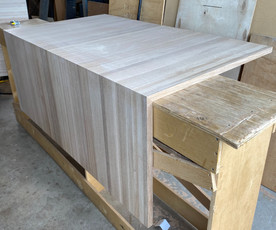 White Oak Butcher Block- Water Fall