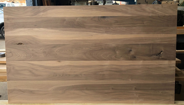 Walnut Plank Style w-sap & character