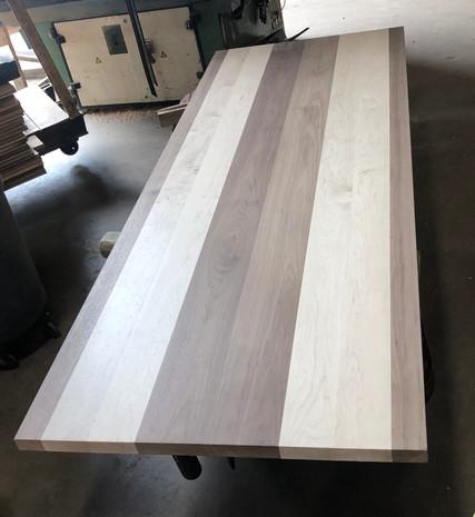 Plank style Hard Maple & Walnut