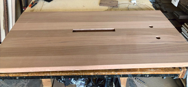 Plank Style Ribbon Stripe Sapele w-Gromm