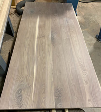 Plank Style Walnut Top
