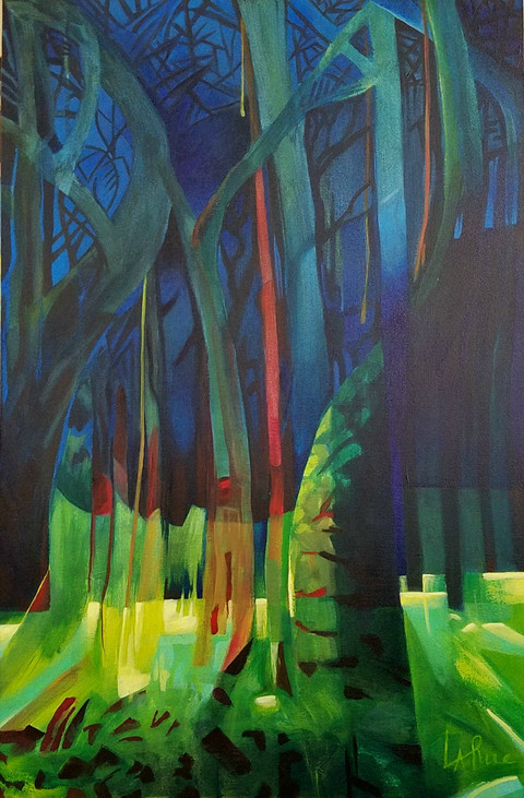 LIGHT IN THE DARKENING FOREST