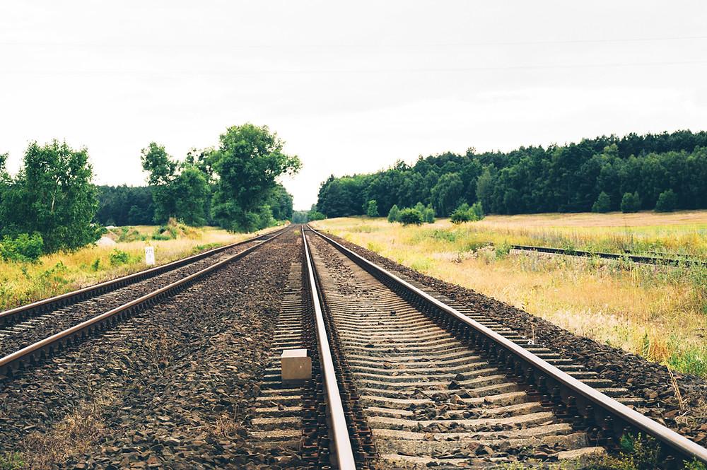 railroad tracks in minocqua