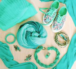 Accessoires verts Lifestyle