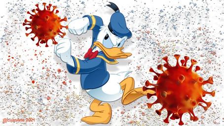 Donald Duck le guerrier rebelle