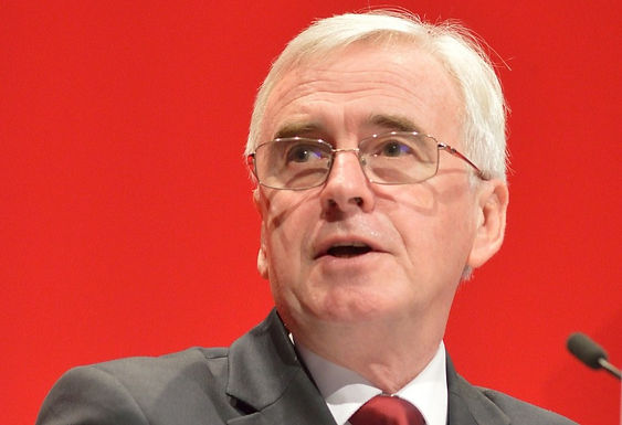 John McDonnell calls on government to rule out financial support for tax evading companies