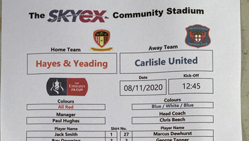 Hayes and Yeading knocked out of FA Cup on penalties
