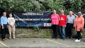For a Decent Night's Sleep: Community Calls for end to Heathrow Night Flights