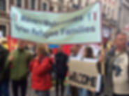 Refugees-welcome-London-demo2- malvern w