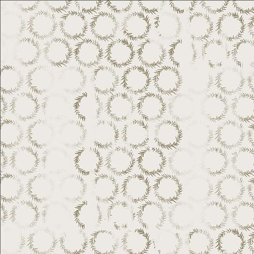 Tundra, Flax on White