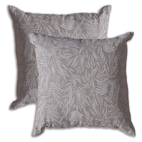 50 x 50 cm cushion cover, Acacia White on Oatmeal