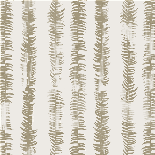 Frond, Flax on White