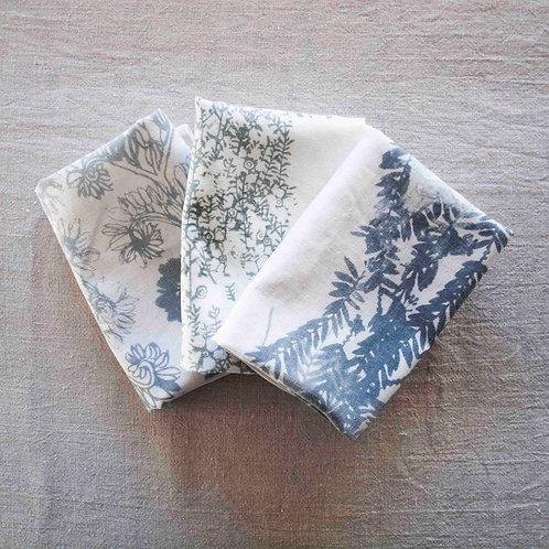 Cotton/Linen Tea Towel set of 3
