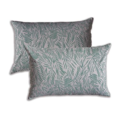 40 x 60 cm cushion cover, Acacia Silvergum on Natural